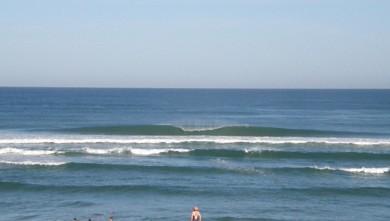 wave report FR, Vieux Boucau (40) du 2009-08-04 10:00:00