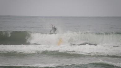 Surf report FR, Vieux Boucau (40) du 2009-08-08 15:00:00
