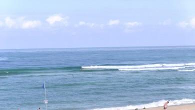 Surf report FR, Vieux Boucau (40) du 2009-08-10 11:00:00