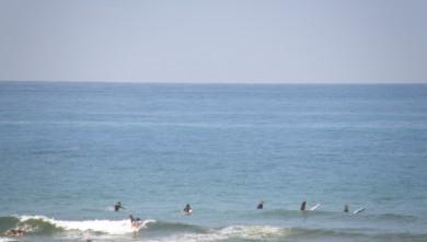 Surf report FR, Vieux Boucau (40) du 2009-08-14 15:00:00