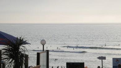 Surf report FR, Vieux Boucau (40) du 2009-08-15 18:00:00
