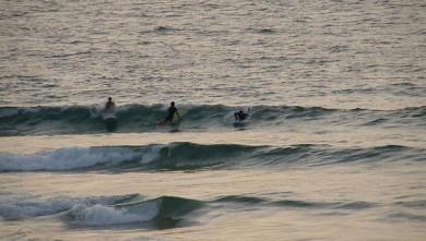 Surf report FR, Vieux Boucau (40) du 2009-08-16 18:00:00