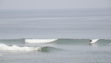 Surf report FR, Vieux Boucau (40) du 2009-08-18 13:00:00