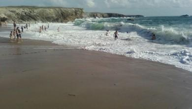 Surf report FR, Quiberon - Port Blanc (56) du 2009-08-21 13:00:00