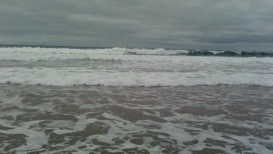 Surf report FR, Blancs Sablons (29) du 2009-08-27 13:00:00