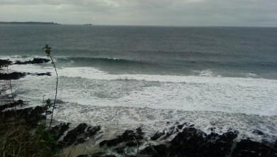 wave report FR, Blancs Sablons (29) du 2009-08-27 17:00:00