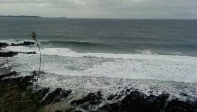 Surf report FR, Blancs Sablons (29) du 2009-08-27 17:00:00
