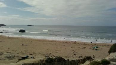 Surf report FR, Quiberon - Port Blanc (56) du 2009-08-30 12:00:00