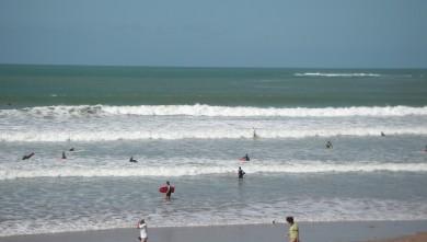 Surf report FR, Plage des Dunes (85) du 2009-08-29 11:00:00