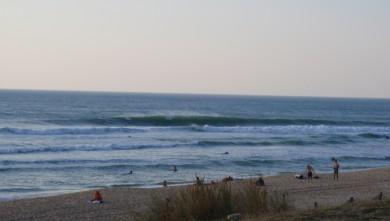 wave report FR, Lacanau Océan - La Nord (33) du 2009-09-10 18:00:00