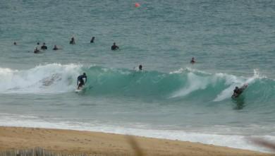 wave report FR, Hossegor - La Gravière (40) du 2009-09-16 19:00:00