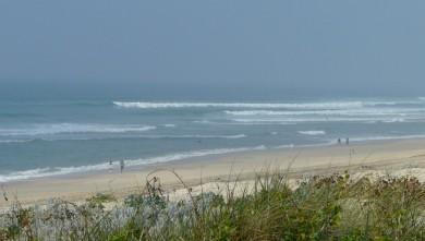 wave report FR, Mimizan - Plage Garluche (40) du 2009-09-22 17:00:00