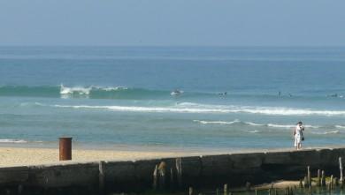 wave report FR, Mimizan - Plage Garluche (40) du 2009-09-27 11:00:00
