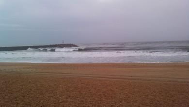 wave report FR, Anglet La Barre (64) du 2009-10-23 16:00:00