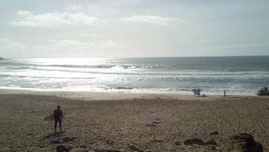 Surf report FR, Quiberon - Port Blanc (56) du 2009-10-26 14:00:00