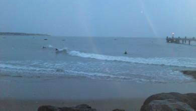 Surf report FR, La Tranche sur Mer - La jetée (85) du 2009-11-01 15:00:00
