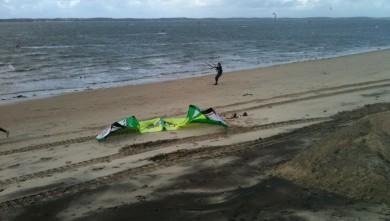 Wind report FR, Arcachon - Les Arbousiers (33) du 2009-12-03 14:00:00