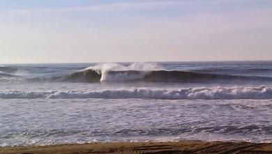 wave report FR, Anglet La Barre (64) du 2009-12-09 13:00:00