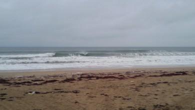 Surf report FR, Penthièvre (56) du 2009-12-24 09:00:00