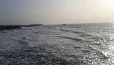 wave report FR, Quiberon - Port Blanc (56) du 2009-12-27 15:00:00