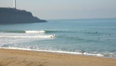 Surf report FR, Anglet VVF (64) du 2009-01-10 12:00:00