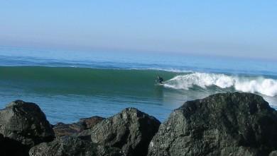 Surf report FR, Anglet Corsaires (64) du 2009-01-11 12:00:00