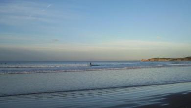 Surf report FR, Hendaye (64) du 2009-01-30 12:00:00