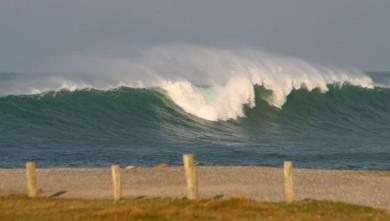 wave report FR, La Torche (29) du 2009-02-02 12:00:00