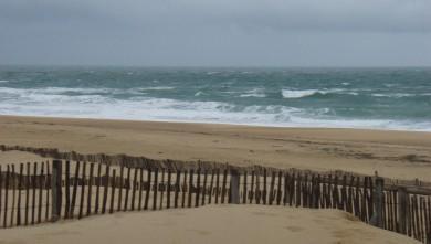 Surf report FR, Hossegor - La Nord (40) du 2009-02-06 12:00:00