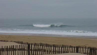 wave report FR, Seignosse - Les Casernes (40) du 2009-02-12 12:00:00