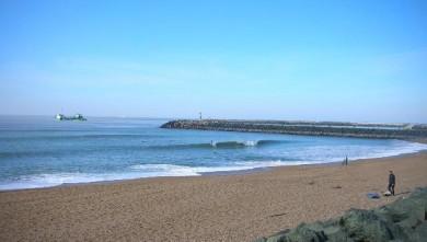 Surf report FR, Anglet Les Cavaliers (64) du 2009-02-15 12:00:00