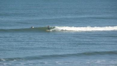 Surf report FR, Cap-Ferret - Plage de L'Horizon (33) du 2009-02-16 12:00:00