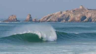 wave report FR, Quiberon - Port Blanc (56) du 2009-02-20 12:00:00