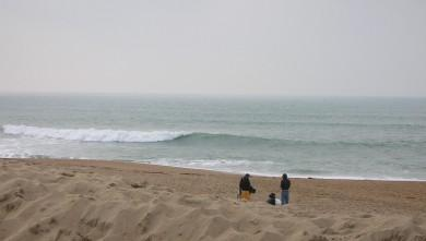 wave report FR, Anglet La Madrague (64) du 2009-02-22 12:00:00