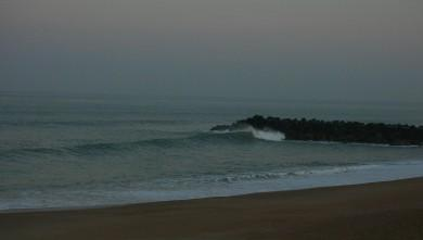 wave report FR, Anglet Sables d'Or (64) du 2009-02-26 12:00:00