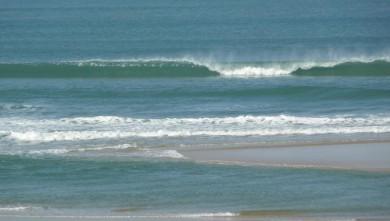 Surf report FR, Cap-Ferret - Plage de L'Horizon (33) du 2009-02-26 12:00:00