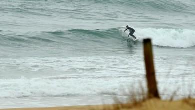 Surf report FR, Seignosse - Les Casernes (40) du 2009-03-01 12:00:00