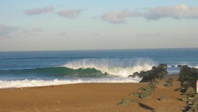 Surf report FR, Anglet Sables d'Or (64) du 2009-03-03 12:00:00