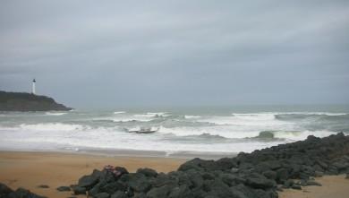 Surf report FR, Anglet VVF (64) du 2009-03-08 12:00:00