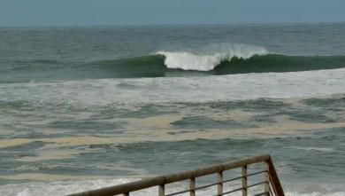 Surf report FR, Hossegor - La Nord (40) du 2009-03-09 12:00:00