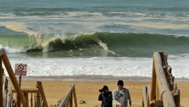Surf report FR, Hossegor - La Gravière (40) du 2009-03-10 12:00:00