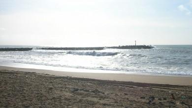 Surf report FR, Anglet La Barre (64) du 2009-03-10 12:00:00
