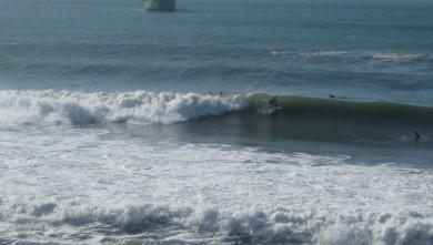 Surf report FR, Anglet La Barre (64) du 2009-03-15 12:00:00
