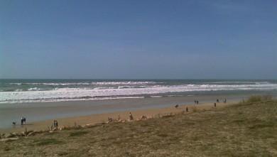 Surf report FR, Lacanau Océan - La Nord (33) du 2009-03-15 12:00:00