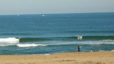 Surf report FR, Anglet La Madrague (64) du 2009-03-21 12:00:00