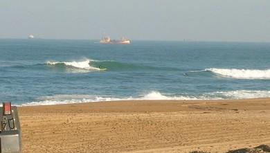 Surf report FR, Anglet La Madrague (64) du 2009-03-30 12:00:00