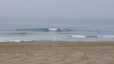Surf report FR, Anglet La Madrague (64) du 2009-04-04 12:00:00