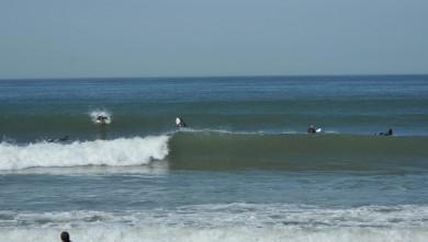 Surf report FR, Hossegor - La Nord (40) du 2009-04-09 12:00:00