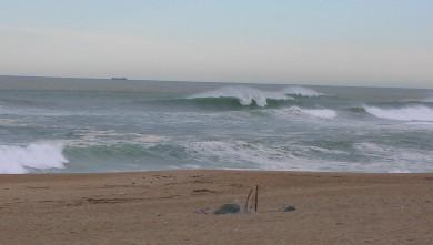 Surf report FR, Anglet La Madrague (64) du 2009-04-16 12:00:00