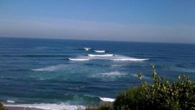 Surf report FR, Guethary Parlementia (64) du 2009-05-28 12:00:00